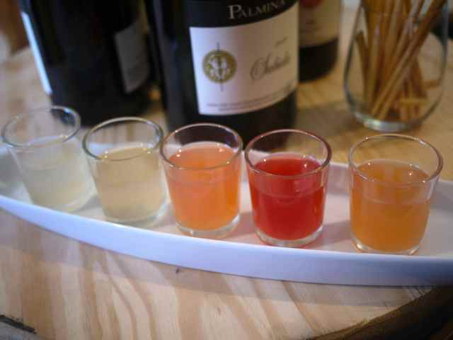 aperitivi at Palmina Winery in Lompoc