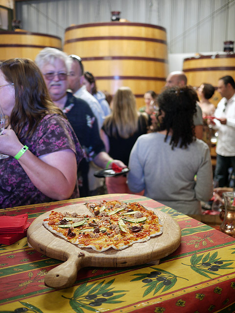 Pizza & Dolcetto from Palmina